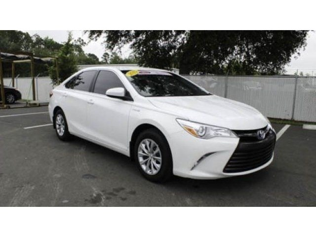 certified pre owned 2015 toyota camry hybrid le 4dr car in jacksonville 67232a arlington toyota. Black Bedroom Furniture Sets. Home Design Ideas